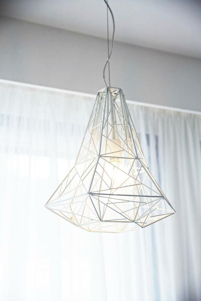 Creating simplistic statement pieces with lighting