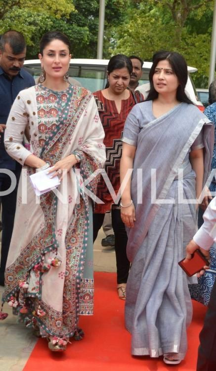 Kareena Kapoor Looks Gorgeous in A Printed Anarkali Dress at the UNICEF Event   PINKVILLA