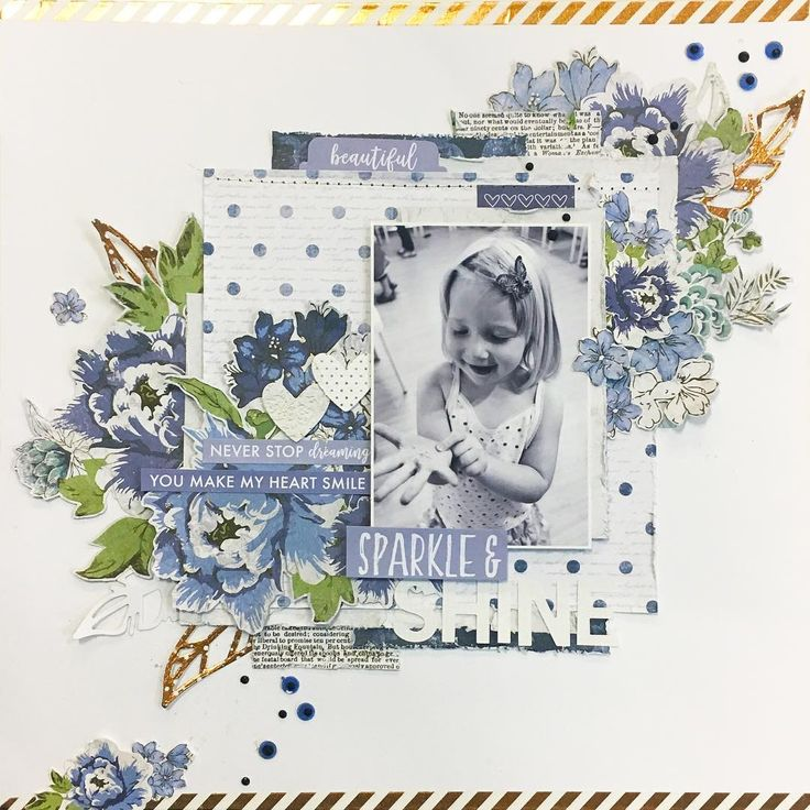 "14 Likes, 3 Comments - Kasia Leach (@kasialeach) on Instagram: ""My second layout for the December Kit over at @uniquely.creative.kits .. loved the Ivy Rose…"""