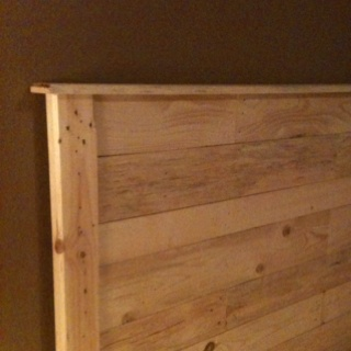 Bedroom on Re Purposed Pallet Wood   Bedroom