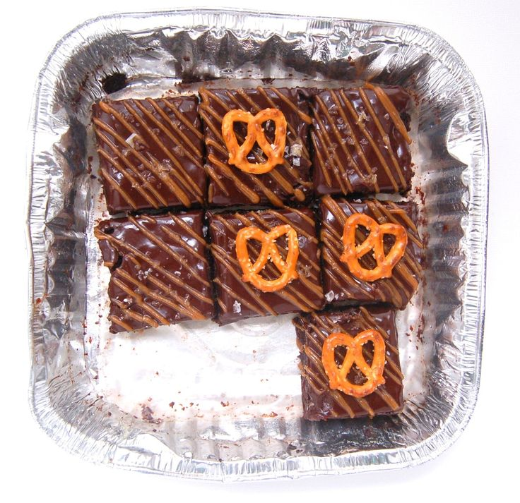 caramels salted caramels caramel pretzel brownies fudgy brownies ...
