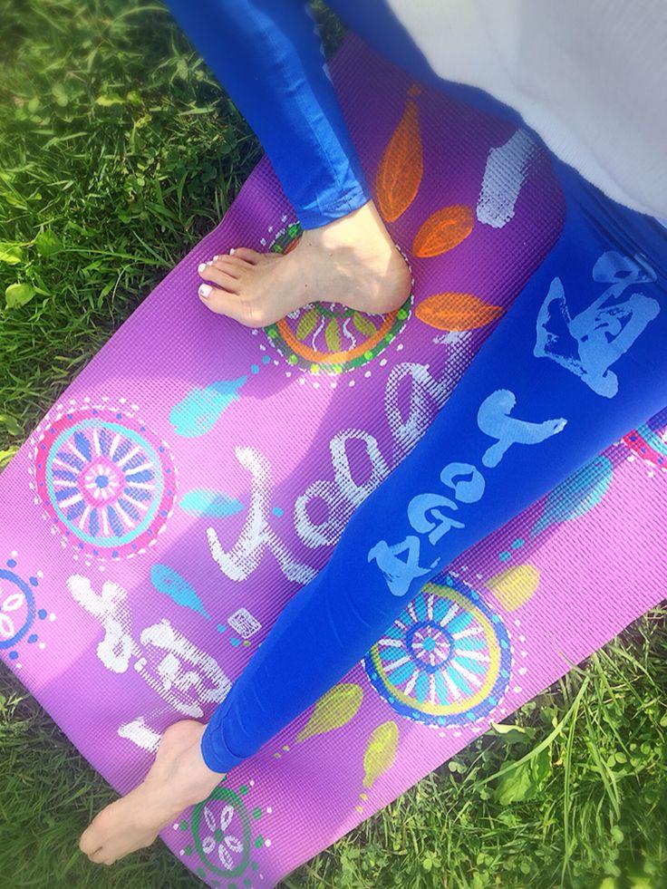 直yoga japonythm yoga mat  & leggings #直yogajaponythm#腹活#ハラカツ