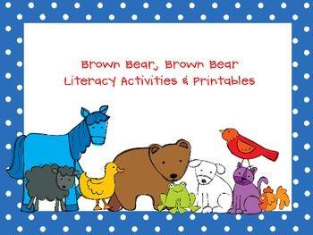43 best preschool brown bear images on pinterest brown