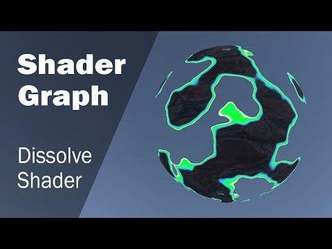 Создание шейдера для растворения текстуры в Shader Graph