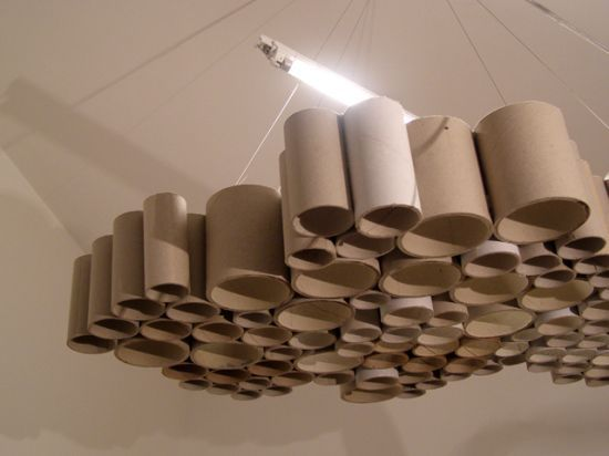 These Unique Carton Tube Shades Are Created When Recycling Meets Design.  Recycling Is A Key Concept Of Modern Waste Management And Is The Third  Component Of ... Gallery