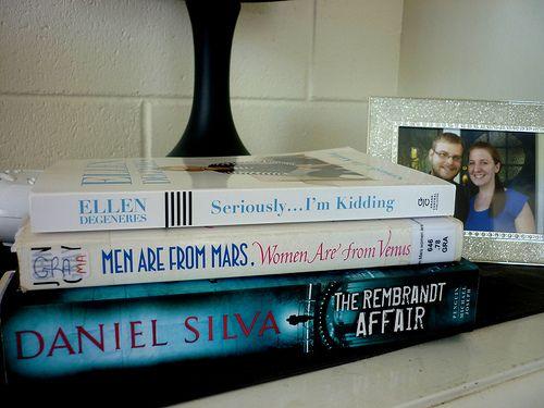 Latest books on my night stand