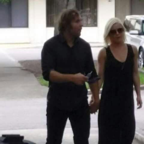 Dean & Renee at Dusty Rhodes Funeral 6/17/15   Renee Young ...