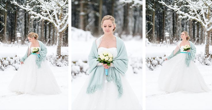 Schnee Hochzeit