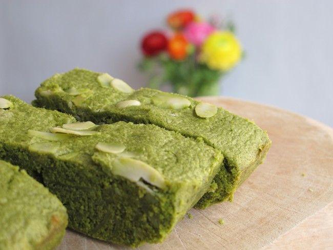 brownies thé vert matcha