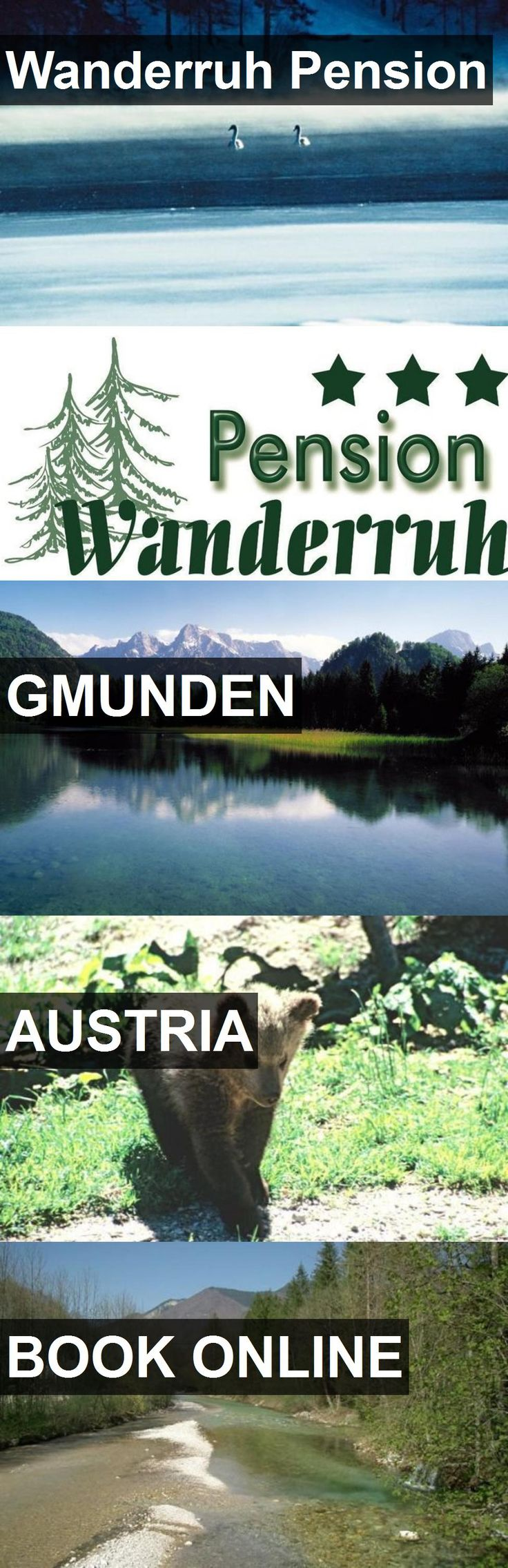 Hotel Wanderruh Pension in Gmunden, Austria. For more information, photos, reviews and best prices please follow the link. #Austria #Gmunden #travel #vacation #hotel