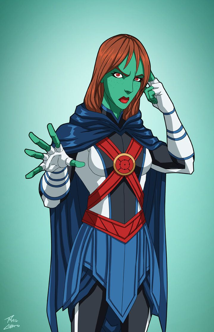 Miss Martian (Earth-27) commission by phil-cho on DeviantArt