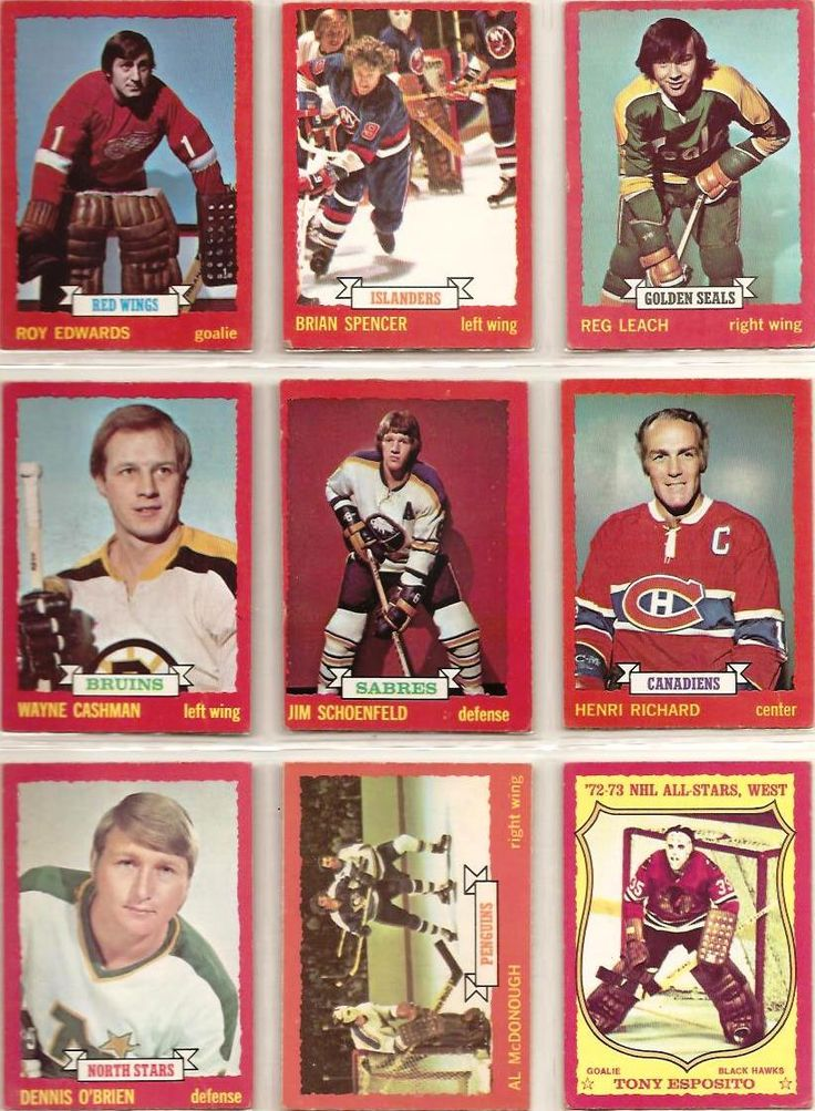 82-90 Roy Edwards, Brian Spencer, Reg Leach, Wayne Cashman, Jim Schoenfeld, Henri Richard, Dennis O'Brien, Al McDonough, Tony Esposito