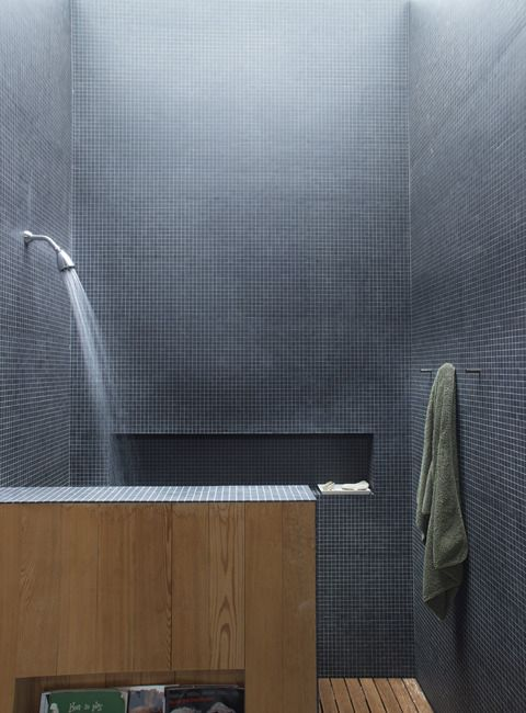 Shower. contemporary bathroom