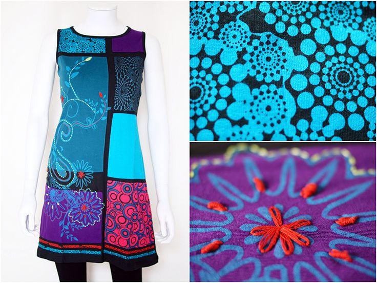 Mini-jurken - Funky zomerjurk - Maya - Een uniek product van Filosophie op DaWanda