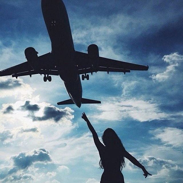All about those jet setting vibes