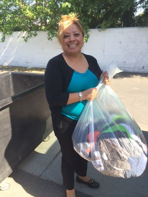 #Donate4Good to Goodwill of Orange County #create #jobs #oc. Thank you Gabby!