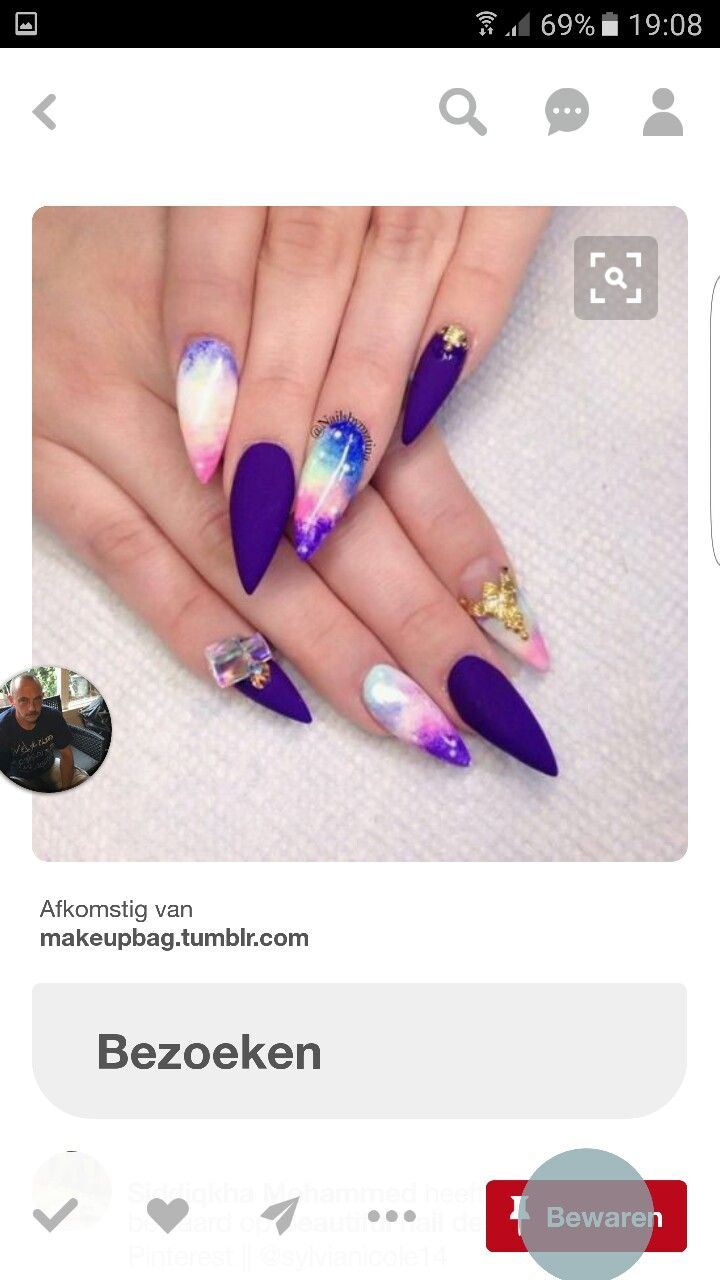 12 best inspiratie nagelkunst images on Pinterest