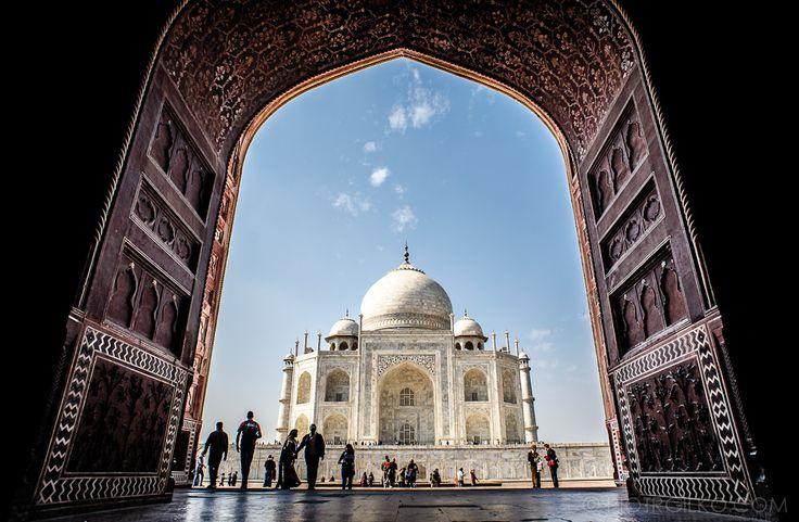 #Agra #India #TajMahal