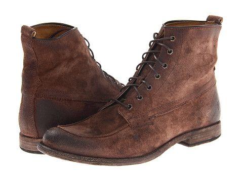 Frye Phillip Work Boot Dark Brown Soft Vintage Leather - Zappos.com Free  Shipping BOTH. Braune Wildleder StiefelSchnürstiefelHerren ...