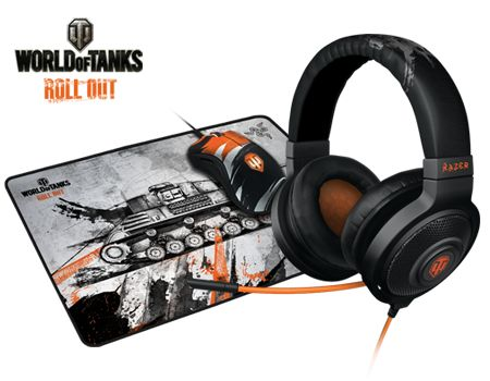 World of Tanks Gaming Peripherals by Razer: Gaming Mouse & Mouse Mat