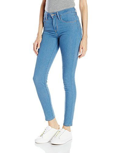 Levi's 721 High Rise Skinny Cerulean Valley Pantalón para Mujer, color Azul Claro