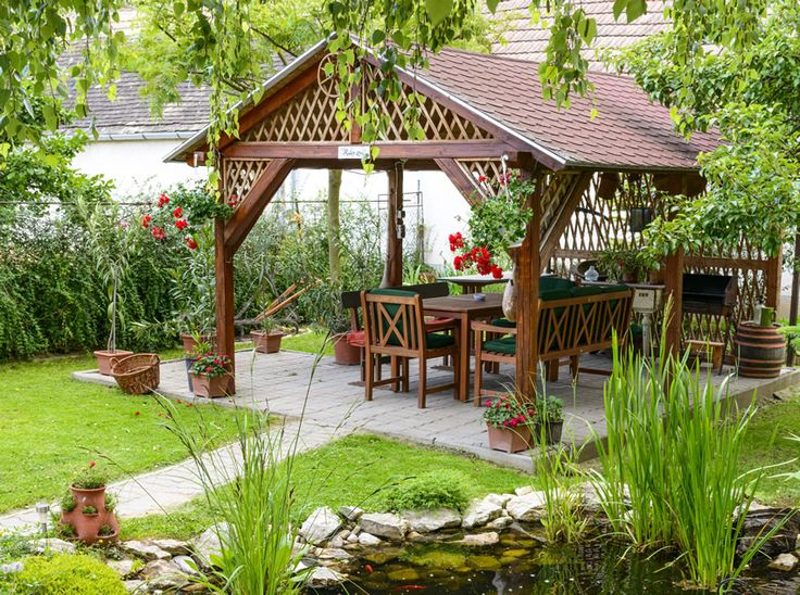 Superb 47 Gazebo Designs (Picture Gallery). Outdoor Dining ...