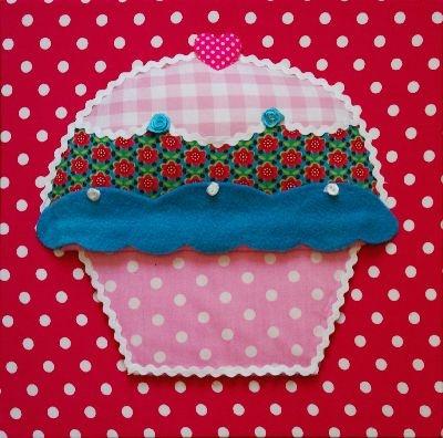 Schilderij (Artwork) Mister Cupcake