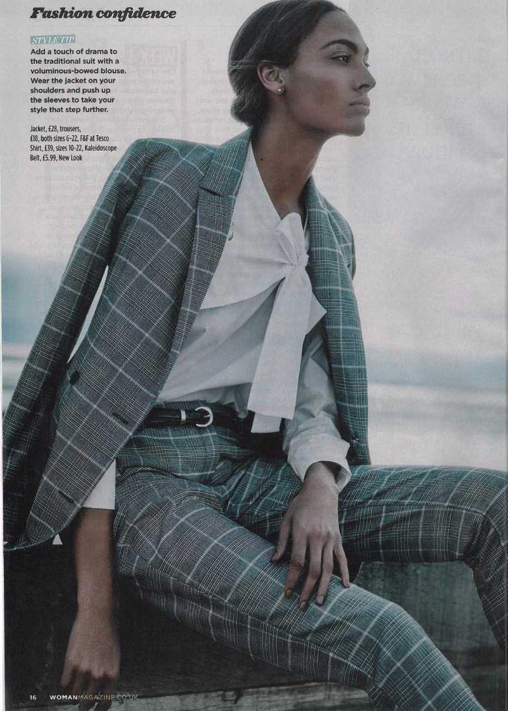 Add a voluminous-bowed blouse - Woman Magazine