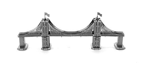 Architecture Model Kits - Fascinations Metal Earth Brooklyn Bridge 3D Metal Model Kit * Visit the image link more details.