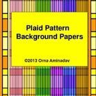 6 different color combinations that will enhance your products. I have also included the backgrounds with a complementary colored box.     Plaid Pa...