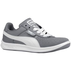 PUMA G Vilas 2 - Boys' Grade School - Casual - Shoes - Steel Grey/White