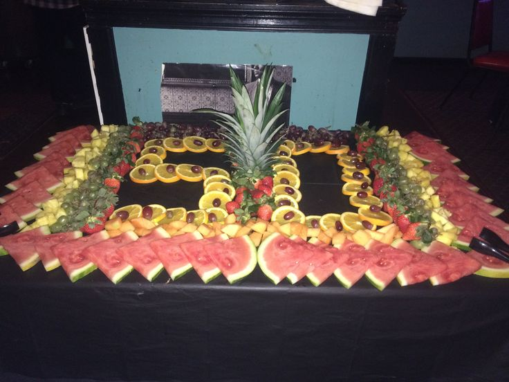 Fruit display for Birthday