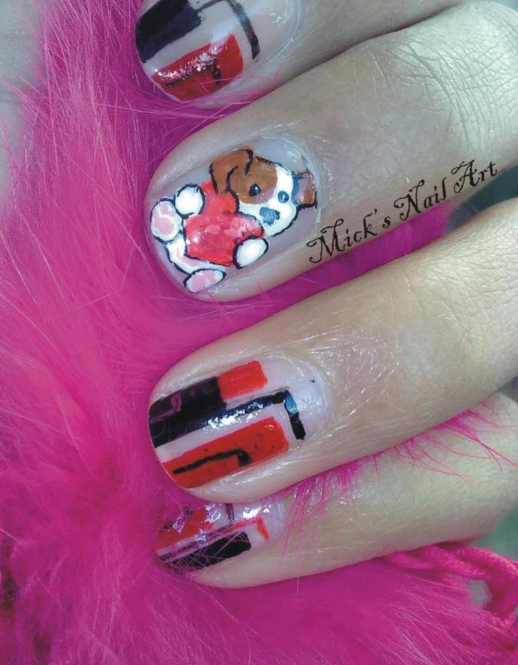 Nail Art Puppys Day Free Proxy