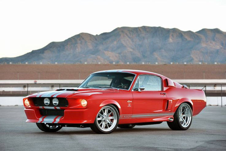 1967 Shelby-GT500CR-Ford-Mustang