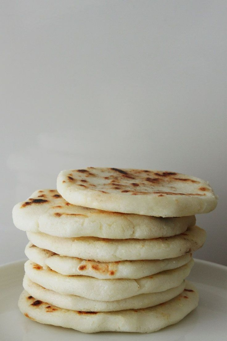 Colombian Arepas Recipe | made from cornmeal
