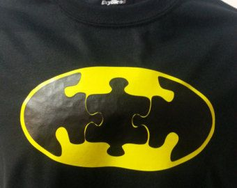 Autism Awareness Batman Puzzle Adult by GreatDaneCompany on Etsy