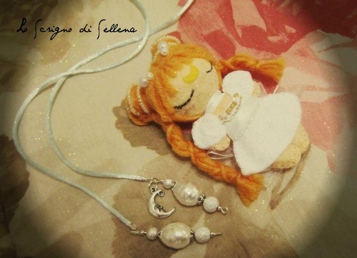 Portachiavi o solo bambolina della #PrincipessaSerenity by #SailorMoon. Fatto a mano. In vendita.12** spedizione esclusa  Senza perle e ciondoli. 20** con collana