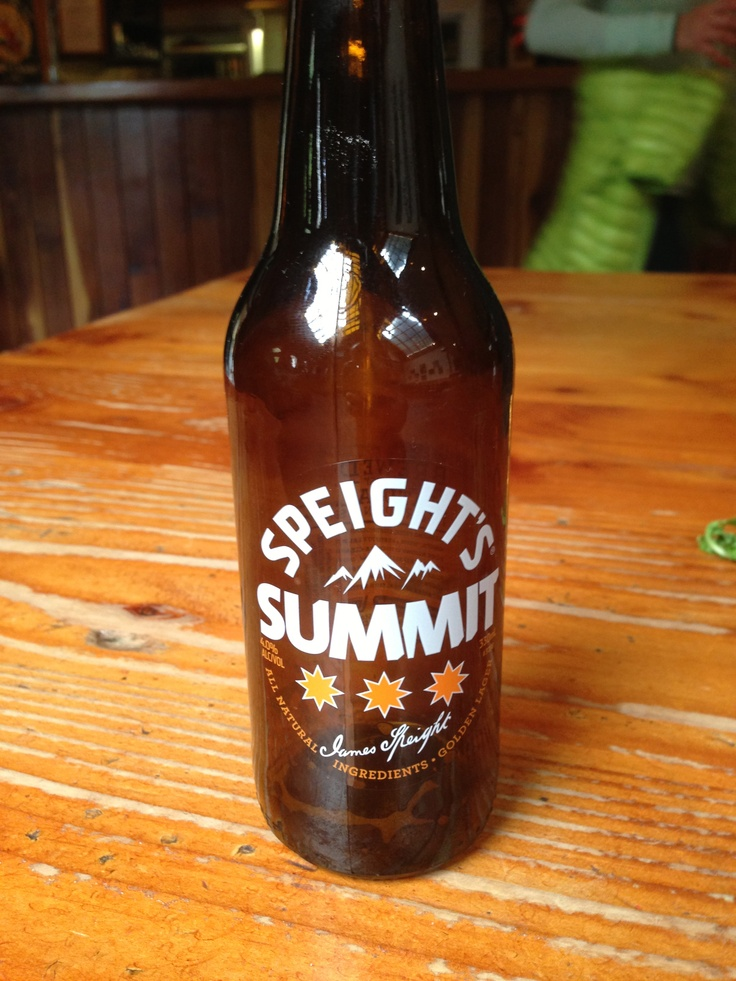 Speights.  Good solid beer.  The Bud light of New Zealand.  Except much better.  Can be found anywhere.