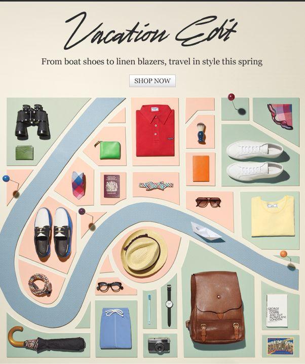 50 лучших дизайнов рассылок (и как самому делать так же круто) (Часть 4) / Блог компании Email-Competitors / Хабрахабр