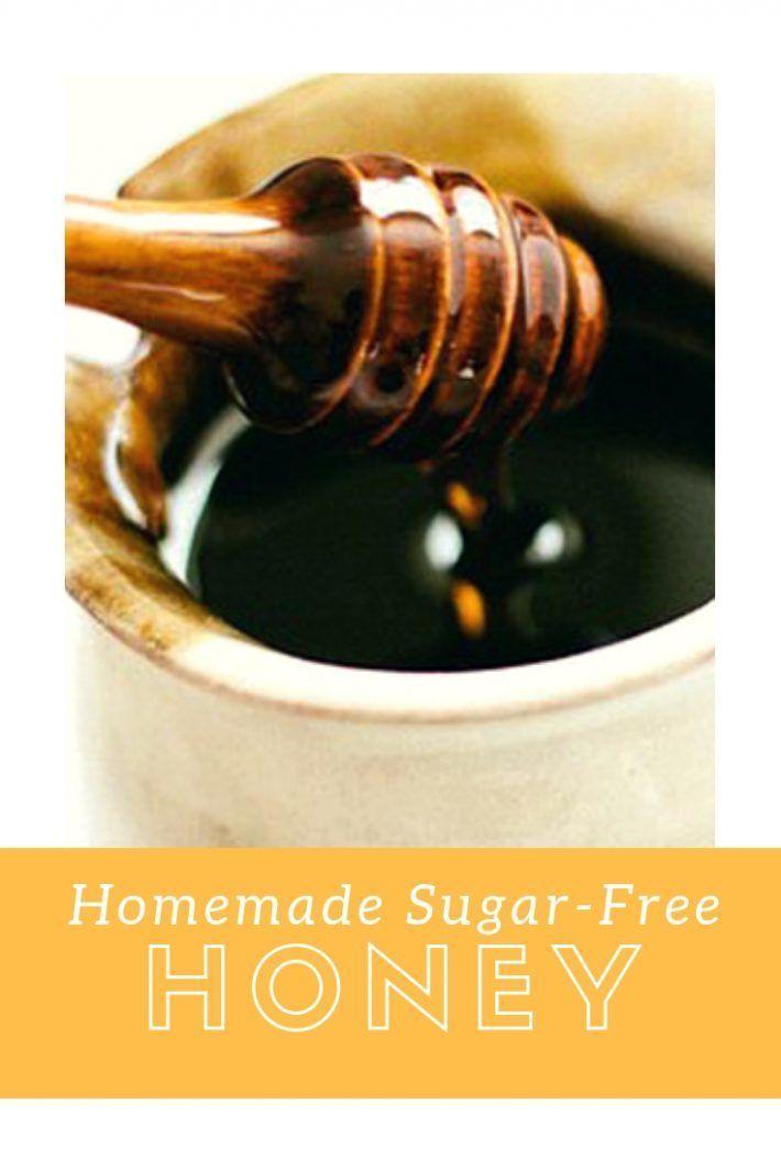 Homemade Sugar-Free Honey | **Splendid Finds** | Sugar free
