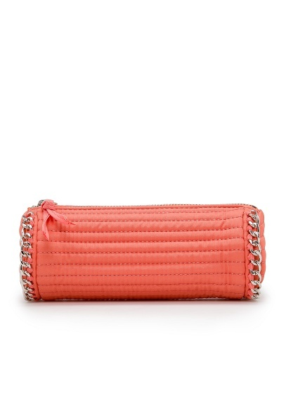 Chain trimmed cosmetic bag by #MANGO $19.99