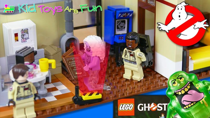 Ghostbusters Toys, Ghostbusters Firehouse LEGO Super Fast Build, 4643 pi...