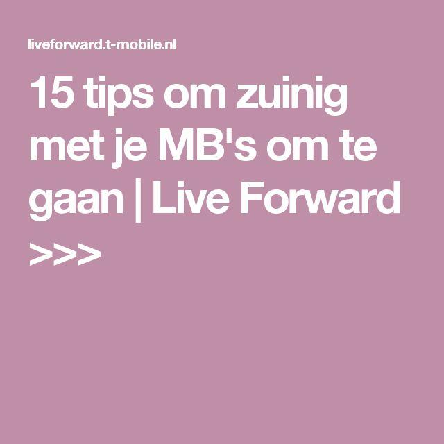 15 tips om zuinig met je MB's om te gaan   Live Forward >>>
