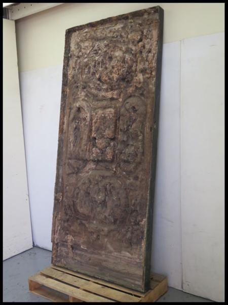 ◎希少!ブロンズ製 人物文装飾扉 彫刻 西洋美術 ローマ神話_画像4