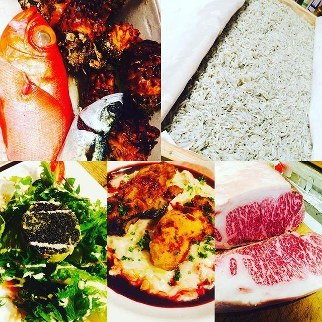ブラッスリーピガール&六畳間❗️ 本日も盛り沢山で間もなくオープンでーす❗️^_^#野毛#和食# フレンチ#刺身#野菜料理#肉 #パスタ #横浜#ブラッスリーピガール #ワイン#日本酒#キャビア#イタリアン