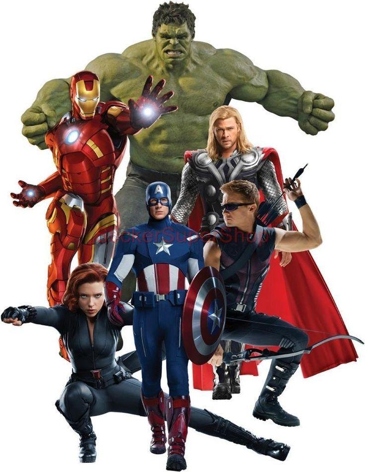 марвел фото всех героев по отдельности
