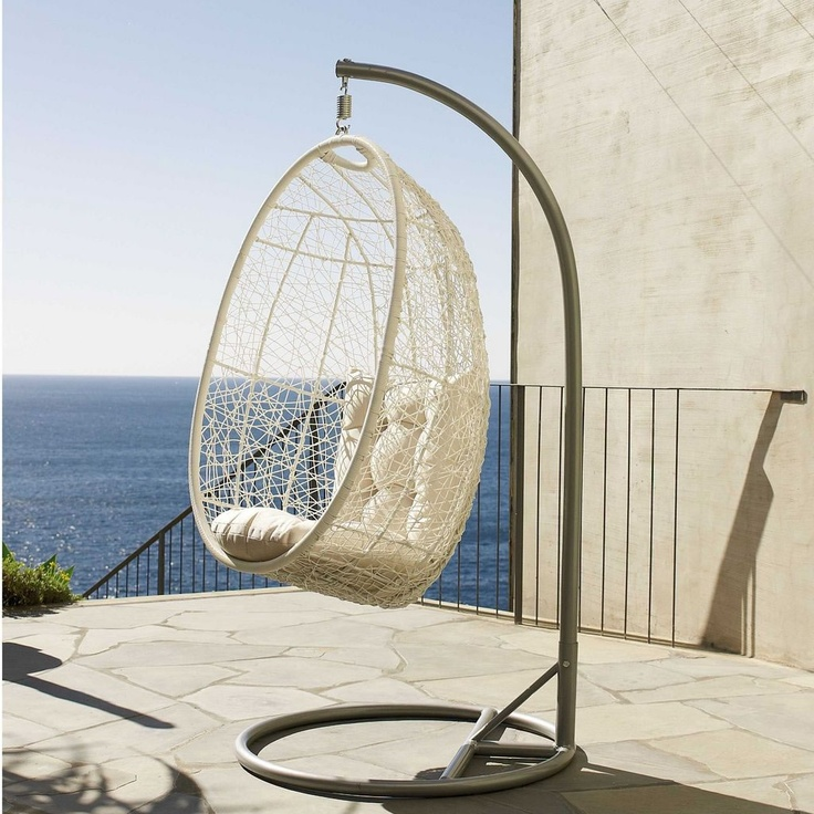 78 best ideas about hanging egg chair on pinterest egg - Indoor hanging egg chair for bedroom ...