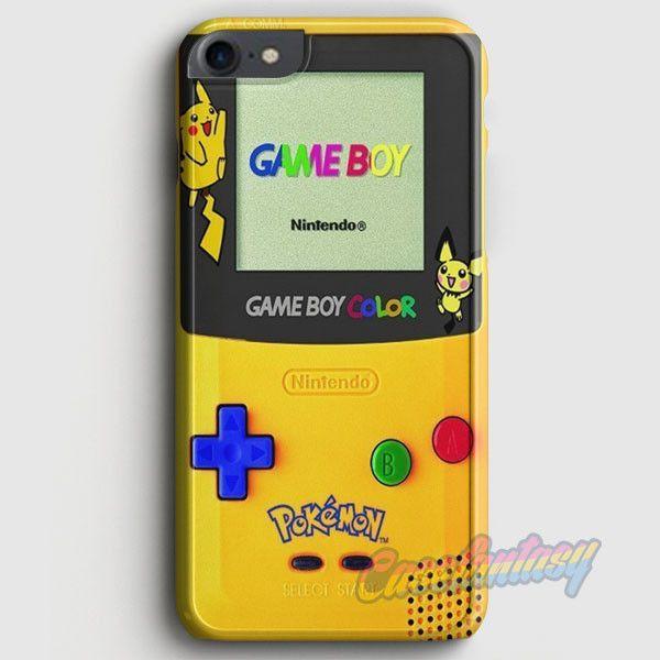 Yellow Gameboy Pokemon iPhone 7 Case | casefantasy