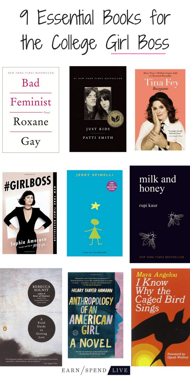 As a college girl navigating life, it's easy to get lost. These 9 books will teach you humility, the beauty of being yourself, and how to be a girl boss.