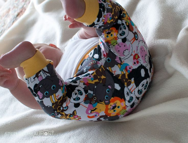 Rolling around in Baby Animal Teegy Tights!  So comfy!!
